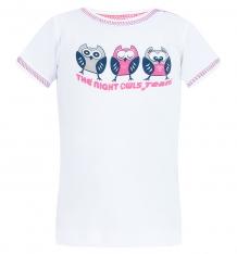 Купить футболка mamatti, цвет: белый/розовый ( id 8153407 )