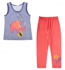 Купить комплект футболка/леггинсы shishco, цвет: фиолетовый ( id 8908141 )