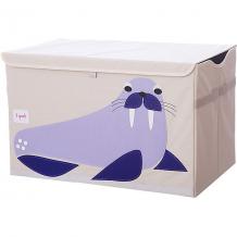 Купить сундук для хранения игрушек 3 sprouts синий морж 10826439