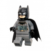 Купить часы lego будильник dc comics super heroes минифигура batman 7001064