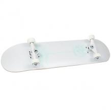 Купить скейтборд в сборе quiksilver anaskull white 32 x 8 (20.3 см) белый