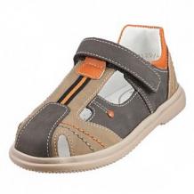 Купить сандалии топ-топ, цвет: бежевый/серый ( id 12506410 )