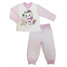 Купить soni kids пижама длинный рукав (кофточка и штанишки) маленькая леди з7113001