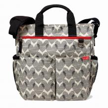 Купить сумка для мамы skip hop duo signature hearts, кремовый и черный skip hop 996967459