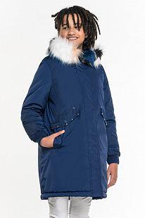 Купить куртка boom by orby, цвет: синий ( id 11689822 )