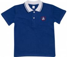Купить клякса футболка-поло для мальчика корабль фпм-100