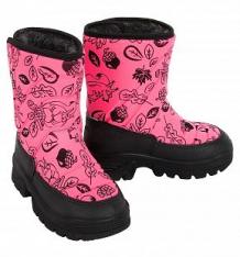 Купить сапоги demar hannu, цвет: розовый ( id 1081865 )