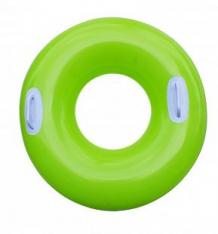 Купить надувной круг intex глянцевый с ручками зеленый, 76 см ( id 5624401 )