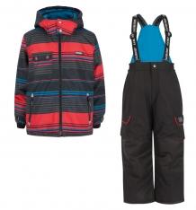 Купить комплект куртка/полукомбинезон gusti boutique, цвет: красный gwb3034 red