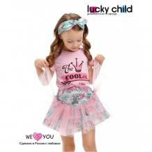 Купить lucky child юбка для девочки принцесса сказки 45-351к 45-351к