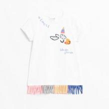 Купить футболка coccodrillo, цвет: белый ( id 12803362 )