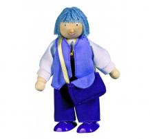 Купить goki кукла деревянная бабушка 51728
