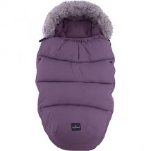 Конверт зимний с опушкой в коляску Eloidie Details, темно-фиолетовый Plum Love ( ID 7315480 )