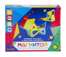 Купить конструктор магнитой магнитный (20 деталей) gl-1006