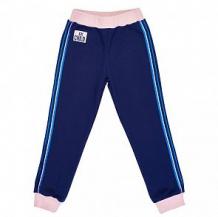 Купить брюки lucky child скажи да, цвет: синий/розовый ( id 12647308 )