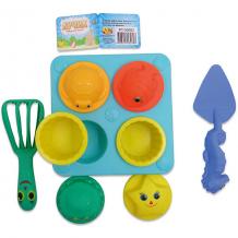 Купить набор для песка abtoys лучик, 11 предметов ( id 5571431 )
