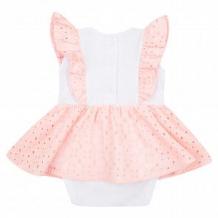 Купить боди leader kids сирена шитье, цвет: белый/розовый ( id 12112270 )