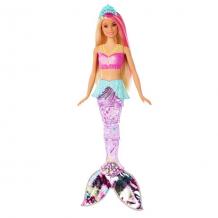 Купить mattel barbie gfl82 барби сверкающая русалочка