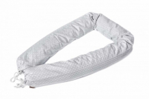 Купить бортик в кроватку honeymammy защитный валик в кроватку dots 180 см