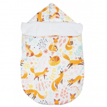 Купить forest конверт на выписку зимний с прорезями fox