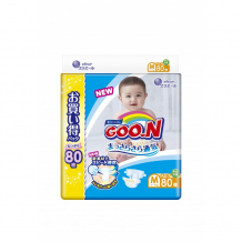 Купить goon подгузники m (6-11 кг) 80 шт. 853181/853502