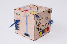 Купить деревянная игрушка бизикуб техника и геометрические фигуры с телефоном 07ct118
