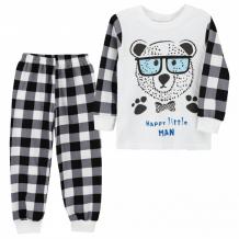 Купить babycollection пижама для мальчика умный мишка 644/pjm001/sph/k1/007/p1/w*m
