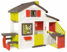 Купить smoby домик для друзей с кухней 810200