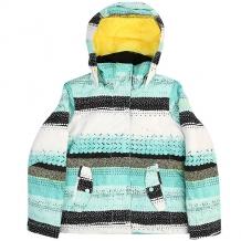 Купить куртка утепленная детская roxy jet girl aruba blue мультиколор ( id 1185334 )