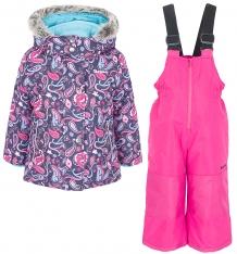 Купить комплект куртка/полукомбинезон zingaro by gusti, цвет: синий/розовый ( id 9911337 )