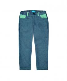 Купить брюки the hip!, цвет: синий/зеленый ( id 9339553 )