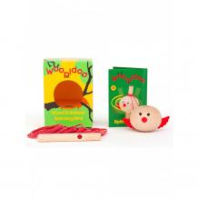 Купить деревянная игрушка kipod toys вертушка птичка kw-108
