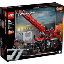 Купить конструктор lego technic 42082: подъёмный кран для пересечённой местности ( id 8005760 )