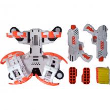 Купить игровой набор bld toys space wars стрельба из бластера по гравитрону с мишенями, звук ( id 16865885 )
