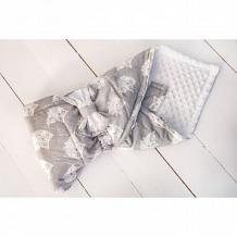 Купить slingme конверт-одеяло радость 90 х 90 см, цвет: серый ( id 12797752 )