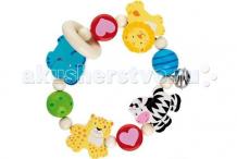 Купить деревянная игрушка heimess кольцо эластик африка 735920
