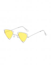 Купить metal hollow triangle lightweight sunglasses ( id 461983406 )