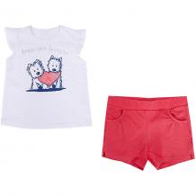 Купить комплект: футболка с коротким рукавом и шорты birba для девочки 10964417