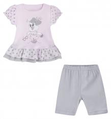 Купить комплект блузка/брюки ewa, цвет: розовый ( id 2584115 )