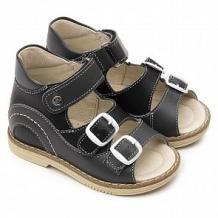 Купить сандалии tapiboo, цвет: черный/серый ( id 12349132 )