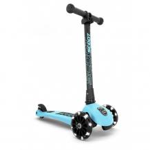 Купить трехколесный самокат scoot&ride складной highway kick 3 led 164382