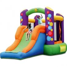 """Купить надувной батут с горкой """"воздушные шары"""", happy hop ( id 5530652 )"""