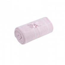 Плед для кроватки Mothercare хлопковый, 155х120 см, розовый Mothercare 5857232