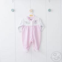 Купить комбинезон kidaxi, цвет: розовый/белый ( id 10600409 )