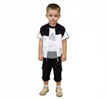 Купить комплект бриджи/футболка/кофта славита мотылёк, цвет: белый ( id 12292876 )