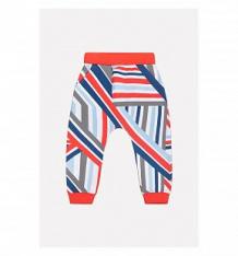 Купить брюки crockid sport inspired, цвет: белый/красный ( id 10354727 )