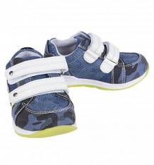 Купить полуботинки indigo kids, цвет: синий ( id 2651075 )