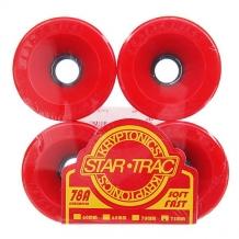 Купить колеса для скейтборда для лонгборда kryptonics star trac premium red 78a 75 mm красный