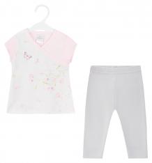 Купить комплект футболка/брюки мамуляндия флер, цвет: мультиколор ( id 9427141 )