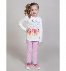 Купить брюки sweet berry цветочная поляна, цвет: розовый ( id 10338923 )